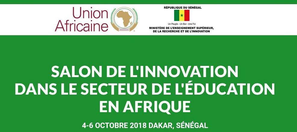 Le salon de l'innovation pour l'éducation en Afrique